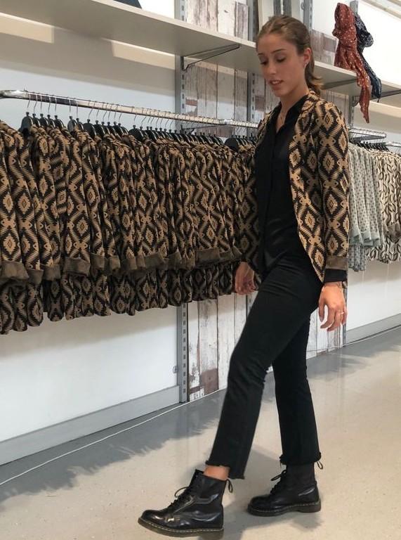 Giacca lana donna