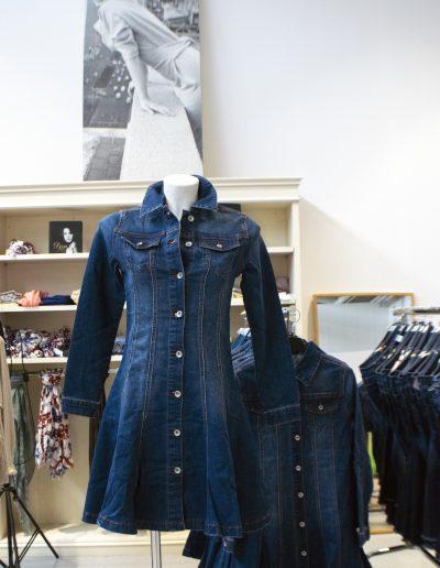 abito jeans donna