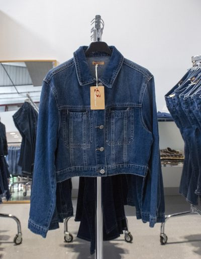 giacca donna jeans 2021